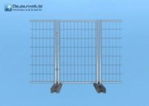 Bauzaun Lauftor 1,20 x 2,00 m