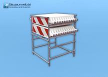 Warnbaken Transport- und Lagergestell