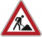 Verkehrszeichen Nr. 123 Arbeitsstelle