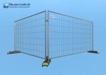 Bauzaun Eutop Economy 29er Set